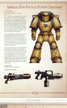 Imperial fist tactical marine