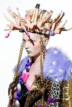 strange-barbie-hat / More on fashion-utopia.com