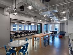 TPG Architecture has recently designed the new offices of Condé Nast Entertainment located in New York City, New York. When TPG Architecture first began City Office, Office Decor, Loft Office, Interior Office, Office Interiors, Tv Decor, Home Decor, Entertainment Center Decor, Bath And Beyond Coupon