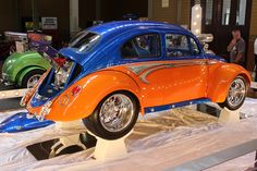 WOW WHAT A VW!!!!  Fl. GATORS colors, UF GO GATORS !!!!!