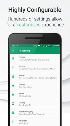 Parrot - Voice Recorder Pro v2.3.0.102b [Unlocked]   Parrot - Voice Recorder Pro v2.3.0.102b [Unlocked]Requirements:4.4Overview:Parrot is a free voice recorder app which allows you to Record Play and Share voice recordings all within 3 taps! A simple and beautiful user interface helps you create crisp and balanced voice recordings. Use Parrot as a dictaphone and start recording voices audio phone conversations your singing: anything you like in HD!  Record yourself or any voice message in…