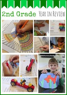 2nd Grade Homeschool Year in Review