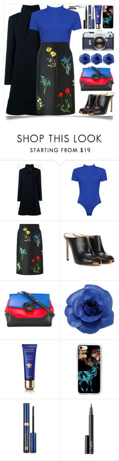 """""""In Bloom: Dark Florals"""" by itsybitsy62 ❤ liked on Polyvore featuring Chloé, WearAll, STELLA McCARTNEY, Francesco Russo, Versace, Chanel, Guerlain, Casetify, Estée Lauder and NARS Cosmetics"""