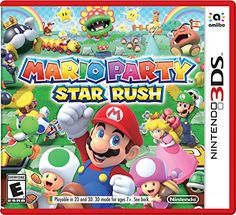 Get Mario Party Star Rush release date cover art, overview and trailer. A new approach to Mario Party: quicker play and simultaneous turns! Team up with Mario, Peach, Donkey Kong and more in the most perfectly portable Mario Party game to date. Wii U, Playstation, Xbox, Donkey Kong, Zulu, Super Mario Bros, Mario Party Games, Mode 3d, Ds Xl