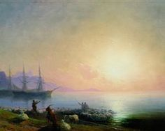 Sheepdip - Ivan Aivazovsky