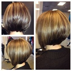 Image for Awesome short angled bob hairstyles                                                                                                                                                                                 More
