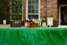 Rustic Camping birthday party activities
