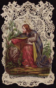 Cartão santamente Céu