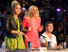 X Factor US: Demi, Britney and Simon