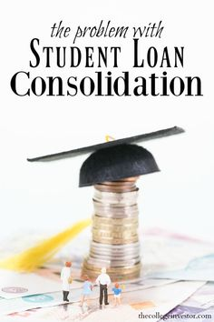 There are several problems with student loan consolidation that borrowers should avoid to pay off their student loan debt.