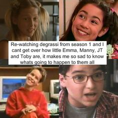 Degrassi Confessions. Everytime I look at J.T. I can't help but cry. WE MISS YOU JAMES TIBERIUS YORKE!!!!