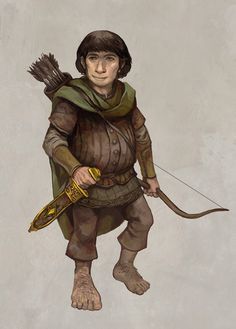 Hobbit by JonHodgson on deviantART