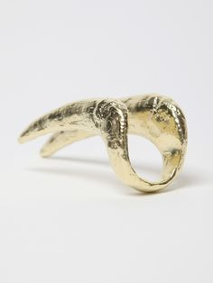 Bjørg Odyssey Howling at the Moon Claw Knuckle Ring