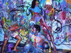 Live paint fooligans een kleurrijke show.. zonder regels.. zonder limitaties..  Wij zijn creatieve kunstenaars die begeleid worden door Richard Helmich ( oprichter ) om van het podium een dynamisch geheel te vormen door kunst, dans en mu ziek samen te brengen