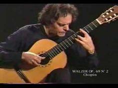 Chopin Waltz Op.69 No.2 arr:Roland Dyens and published by Henri Lemoine (Paris, France).