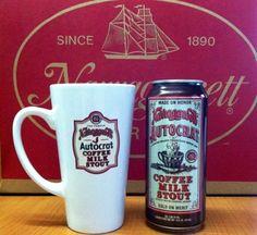 "Autocrat Coffee Milk Stout ""A custom blend of Narragansett's bittersweet milk stout with dark, delicious Autocrat Coffee"" Narragansett Brewing Co, Rochester NY (16oz 5.3%) October 2014"