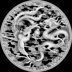 wooden door with metal flowers Tibetan Dragon, Tibetan Art, Zbrush, Dragons, Grayscale Image, 3d Cnc, Statues, 3d Laser, Alpha Patterns