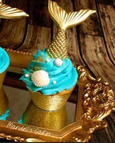 Mermaid Cupcake | https://lomejordelaweb.es/