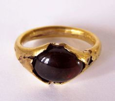 Ancient Roman Gold Ring, 100 A.D.