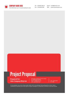 The 8 best professional word template images on pinterest project proposal template v1 friedricerecipe