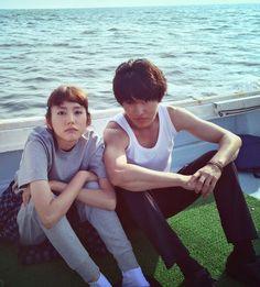 """BTS, ep.2  Mirei Kiritani x Kento Yamazaki x Shohei Miura x Shuhei Nomura, J drama """"Sukina hito ga iru koto (A girl & three sweethearts)"""", from Jul/11/2016"""