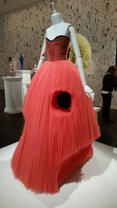 Amazing Talent of Dutch fashion designers Viktor and Rolf...exhibition at NGV.