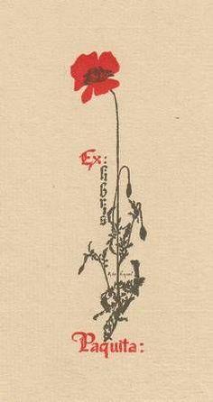 Ex libris by Alexandre De Riquer