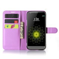 Hot Selling LG G5 Case Wallet Style PU Leather Case for LG G5 H830 with Stand Function and Card Holder