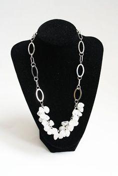 Yellow Blackbird: A Creative Blog: Jewelry Basics: Dangle Necklace