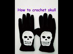 FREE CROCHET PATTERN! Let's make skulls this Halloween! ☠💀☠