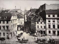 Berlin. Sperlingsgasse. Ecke Friedrichsgracht (1909). Originalfotoabzug 18 x 24 cm.