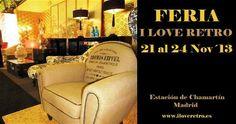 Tienes una cita con el mobiliario retro en Madrid el próximo mes.