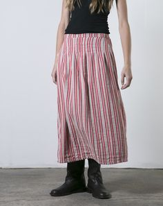 ace&jig fall13 midi skirt in peppermint at Covet + Lou