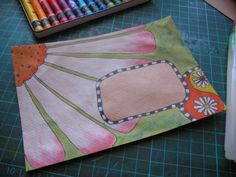 30 Days of Creativity – Day 8 Creating some mail art. Envelope Lettering, Envelope Art, Envelope Design, Hand Lettering, Pen Pal Letters, Letter Art, Fancy Letters, Letter Writing, Mail Art Envelopes