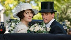 In case you need a refresher ahead of the new film adaptation, here's where every character in Downton Abbey, from Lady Mary and Lady Edith to Daisy and Barrow left off. Downton Abbey Season 6, Downton Abbey Movie, Downton Abbey Fashion, Matthew Crawley, Matthew Goode, Gentlemans Club, Lady Mary, Yorkshire, Elizabeth Mcgovern