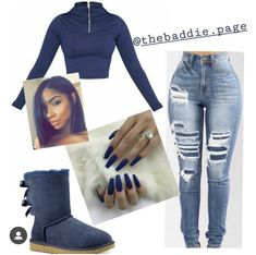 How to wear fall fashion outfits with casual style trends Cute Swag Outfits, Dope Outfits, Pretty Outfits, Stylish Outfits, Casual Dresses For Teens, Outfits For Teens, Fall Outfits, School Outfits, Winter Looks