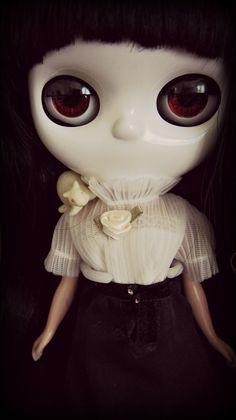 Sweet Little Apple. Custom Blythe Doll inspired by the Little Apple Dolls