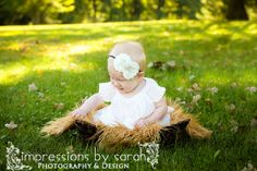 Ivory and Black Headband.Ivory Baby Headband.Baby Girl-Newborn Headband-Cream Headband-Photo Prop
