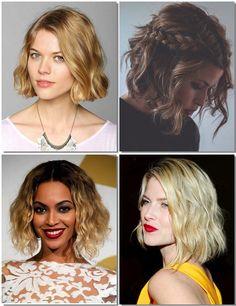 Peinados 2014 cortes de pelo liso rizado