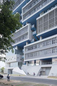 Tsinghua Ocean Center   OPEN Architecture; Photo: Iwan Baan   Archinect