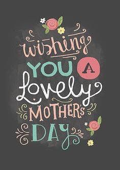 Happy Mother's Day to all of our wonderful followers out there!