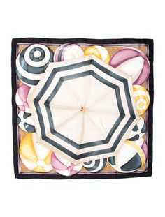 Gucci Printed Silk Scarf w/ Tags