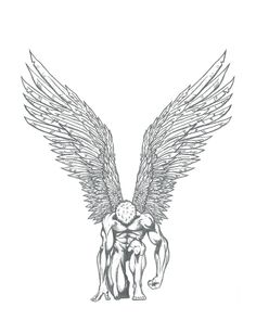 Pin by ingrid ramirez on angel in 2019 tattoo sketches, tattoo designs, dra Tattoo Sketches, Tattoo Drawings, Art Sketches, Art Drawings, Wings Drawing, Angel Drawing, Tattoo Sleeve Designs, Sleeve Tattoos, Future Tattoos
