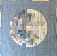 """pixel moon/quilt from """"stitching life"""""""