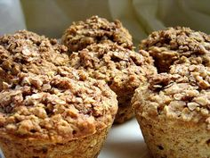Apple cinnamon muffins-Sub the applesauce with one real apple and add a little apple juice.