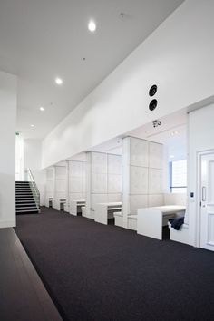 Meeting spaces inside the Net-a-Porter headquarters in London by Studiofibre_