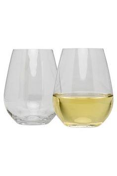 Krosno 6 white wine glasses $24