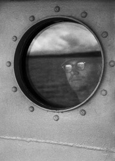 Feinstein, Harold - View From Porthole, from the series Army Draftee, 1950's