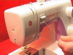 How to thread with a singer sewing machine