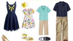 What to Wear for Spring Family Pictures | Savvy Sassy Moms